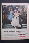 Click here to enlarge image and see more about item 1768: Vintage Ad: 1958 Douglas DC -7