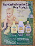 Click to view larger image of 1972 Vaseline Baby Products with Baby and Duck (Image1)