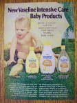 Click to view larger image of 1972 Vaseline Baby Products with Baby and Duck (Image2)