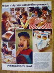1977 Stir and Frost Cake Mix with Different Families