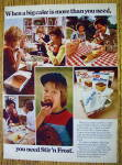 Click to view larger image of 1977 Stir and Frost Cake Mix with Different Families (Image2)