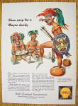 1959 Shell Chemical Corp. with Mayan Indian