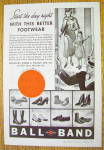 Click to view larger image of 1936 Ball Band Footwear with Woman and Child (Image2)