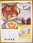 1937 Mirro Star Mold Set with Jell-O Molds