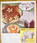 Click to view larger image of 1937 Mirro Star Mold Set with Jell-O Molds (Image2)