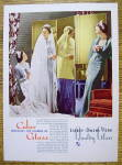 1936 Libbey Glass with Bride & Bridesmaid