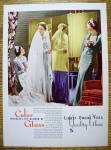 Click to view larger image of 1936 Libbey Glass with Bride & Bridesmaid (Image2)