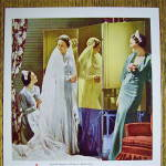 Click to view larger image of 1936 Libbey Glass with Bride & Bridesmaid (Image3)