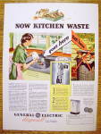 Click to view larger image of 1936 General Electric Disposal w/ Woman Scrapping Plate (Image2)