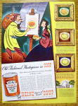 Click to view larger image of 1939 Heinz Tomato Soup with Man Painting (Image1)