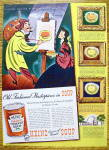 Click to view larger image of 1939 Heinz Tomato Soup with Man Painting (Image2)