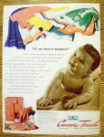 Click to view larger image of 1941 Cannon Towels with Baby On Towel (Image2)