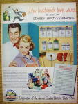1952 Stanley Hostess Parties with Man & Woman Smiling