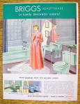 Click to view larger image of 1954 Briggs Beautyware with Woman in Bathroom (Image2)
