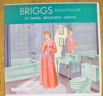 Click to view larger image of 1954 Briggs Beautyware with Woman in Bathroom (Image3)