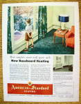 Click to view larger image of 1954 American Standard Heating w/Boy In Window (Image1)