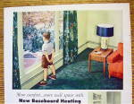 Click to view larger image of 1954 American Standard Heating w/Boy In Window (Image3)