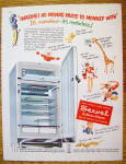 1951 Servel Refrigerator with Motorless Refrigerator