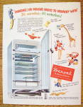 Click to view larger image of 1951 Servel Refrigerator with Motorless Refrigerator (Image2)