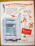Click to view larger image of 1951 Servel Refrigerator with Motorless Refrigerator (Image3)