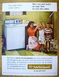 1964 RCA Whirlpool Washer with Woman & 2 Dirty Boys
