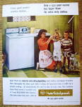 Click to view larger image of 1964 RCA Whirlpool Washer with Woman & 2 Dirty Boys (Image2)