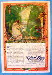 Click to view larger image of 1918 Djer Kiss Face Powder with Girl Pulling Strings (Image2)