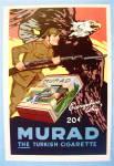 1919 Murad Cigarettes with Soldier & Eagle