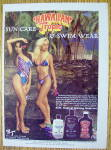 1985 Hawaiian Tropic With Lovely Women