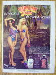 Click to view larger image of 1985 Hawaiian Tropic With Lovely Women (Image3)