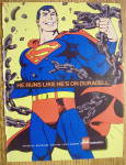 Click to view larger image of 1992 Duracell Batteries With Superman (Image1)