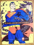 Click to view larger image of 1992 Duracell Batteries With Superman (Image2)