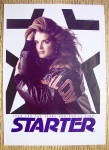 Click to view larger image of 1992 Starter Jacket With Brooke Shields (Image2)