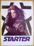 Click to view larger image of 1992 Starter Jacket With Brooke Shields (Image3)