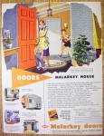 Click to view larger image of 1952 Malarkey Doors With Woman & Children (Image2)