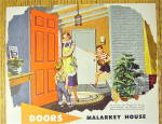 Click to view larger image of 1952 Malarkey Doors With Woman & Children (Image3)