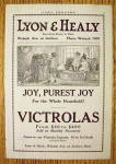 1918 Lyon & Healy Victrolas with Children Playing