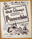 Click to view larger image of 1945 Walt Disney Pinocchio with Pinocchio & Jiminy (Image3)