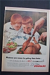 Click here to enlarge image and see more about item 1784: Vintage Ad: 1955 Douglas DC - 7