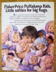Click to view larger image of 1992 Fisher Price Puffalump Kids with Little Girl (Image1)