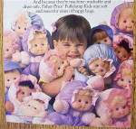 Click to view larger image of 1992 Fisher Price Puffalump Kids with Little Girl (Image3)