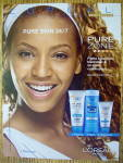 2004 Loreal Pure Zone with Beyonce