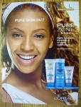 Click to view larger image of 2004 Loreal Pure Zone with Beyonce (Image2)