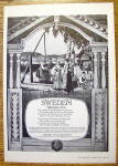 1926 Swedish State Railways with Sweden Welcomes You