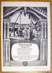 Click to view larger image of 1926 Swedish State Railways with Sweden Welcomes You (Image2)