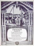Click to view larger image of 1926 Swedish State Railways with Sweden Welcomes You (Image3)