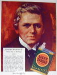Click to view larger image of 1928 Lucky Strike Cigarettes with David Warfield (Image3)