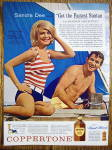 Click to view larger image of 1963 Coppertone Suntan Lotion w/Sandra Dee (Image2)