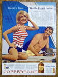 Click to view larger image of 1963 Coppertone Suntan Lotion w/Sandra Dee (Image3)