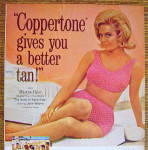 Click to view larger image of 1965 Coppertone with Martha Hyer (Image3)